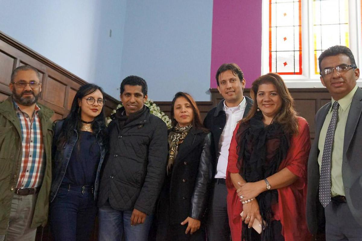 Members of the Reformation anniversary Joint Commission in Colombia, during a planning meeting for upcoming events. Photo: LWF/P. Cuyatti