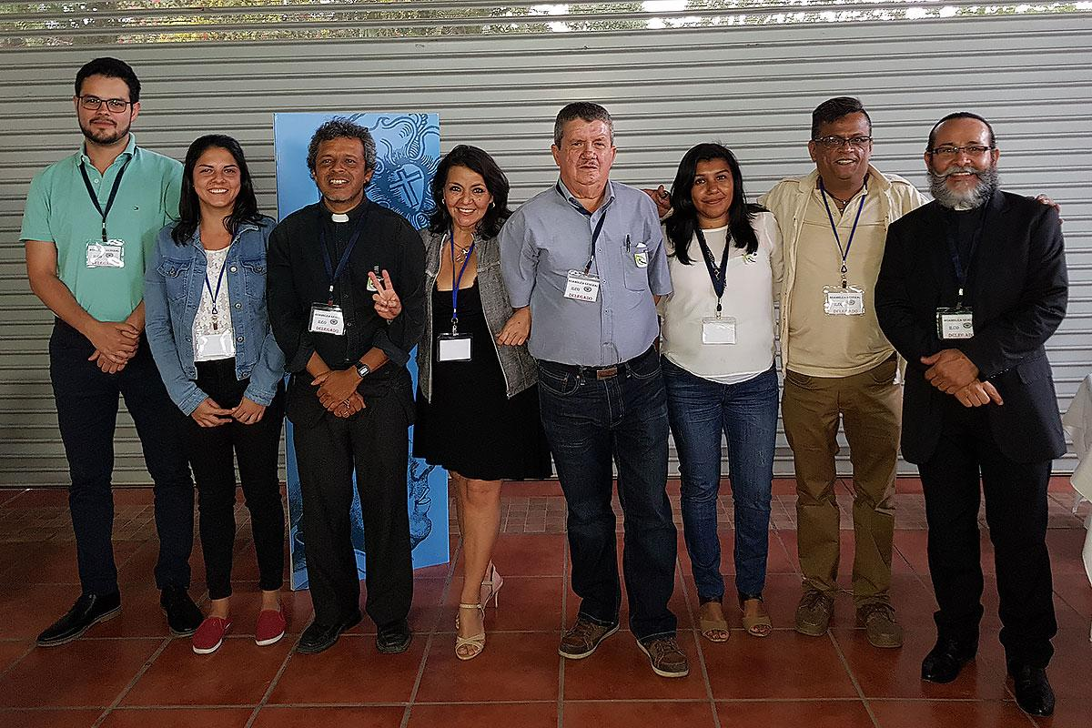 ^The new board of the Costan Rican church are ready to be custodians of the resources of the church. Photo: ILCO