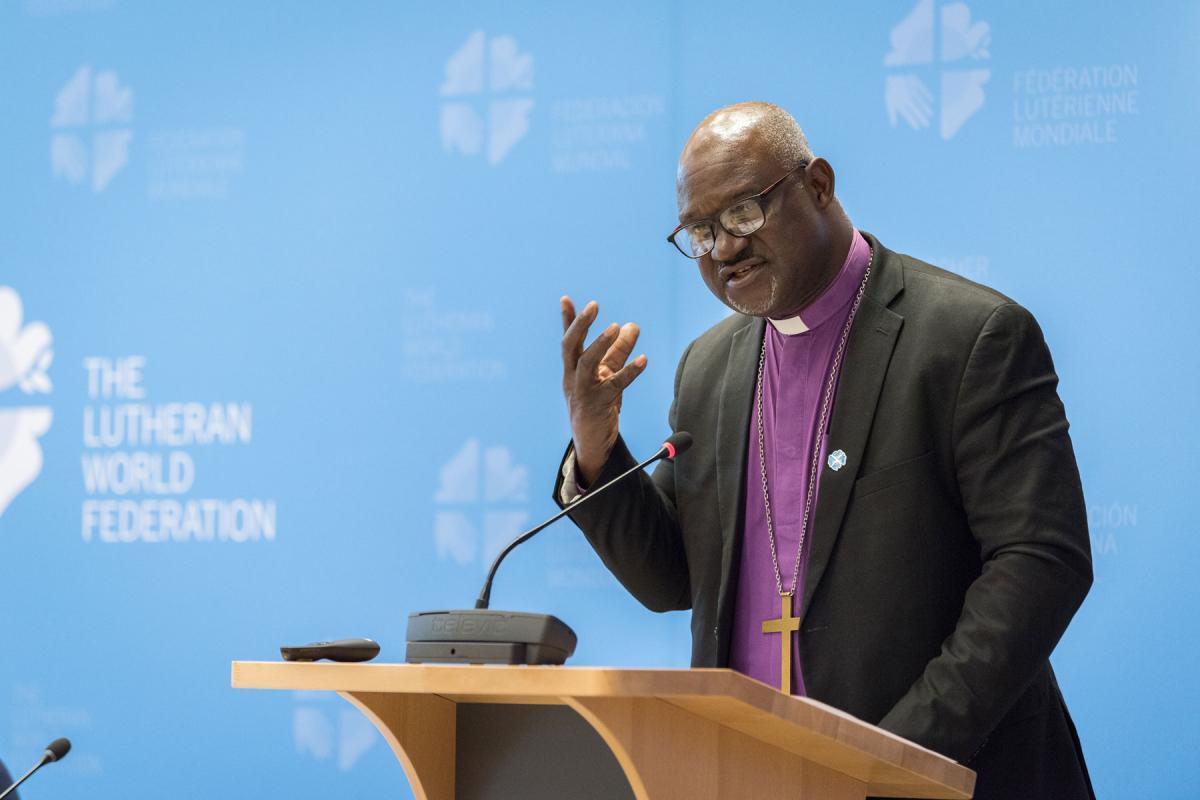 LWF President Archbishop Dr Panti Filibus Musa. Photo: LWF/Albin Hillert