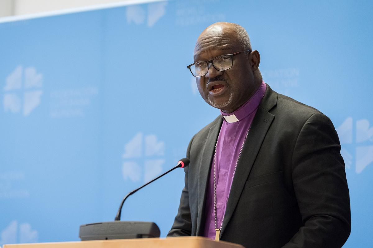 LWF President Archbishop Dr Panti Filibus Musa. Photo: LWF/A. Hillert