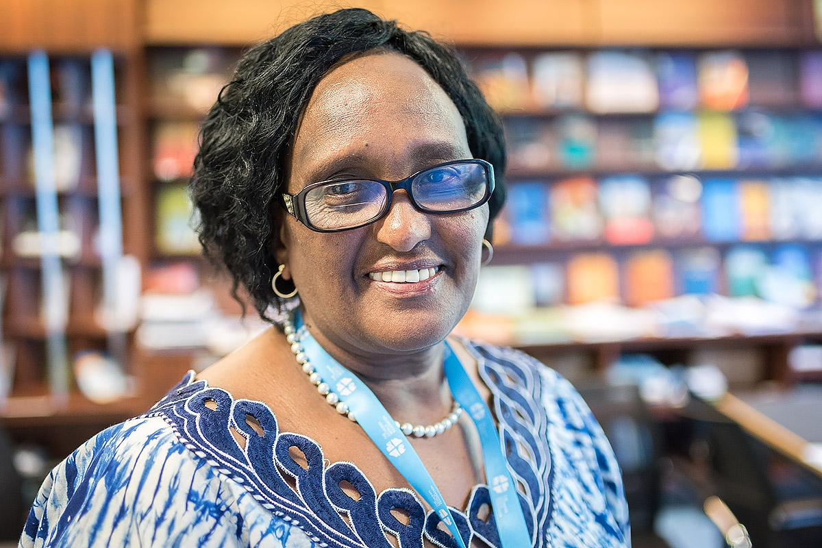 In Voices from the Communion, LoeRose Mbise of the Evangelical Lutheran Church in Tanzania says education and awareness-raising are critical if violence against women and girls is to be tackled. Photo: LWF/Albin Hillert