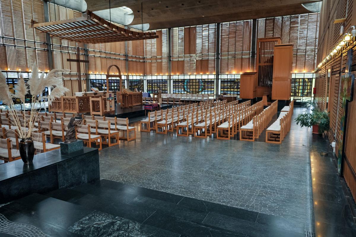 Chapel of Geneva's Ecumenical Center. Photo: LWF/Albin Hillert