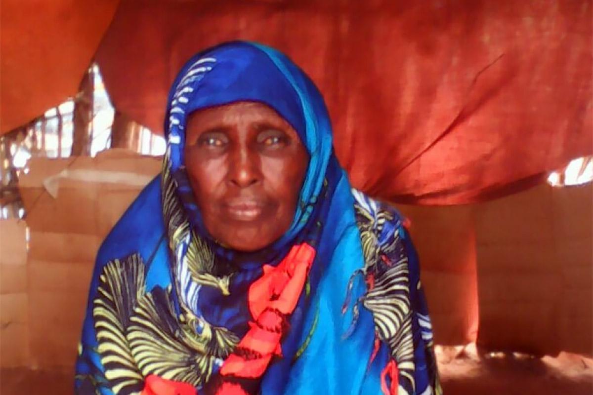 Khadija in her home. Photo: LWF Kenya-Djibouti
