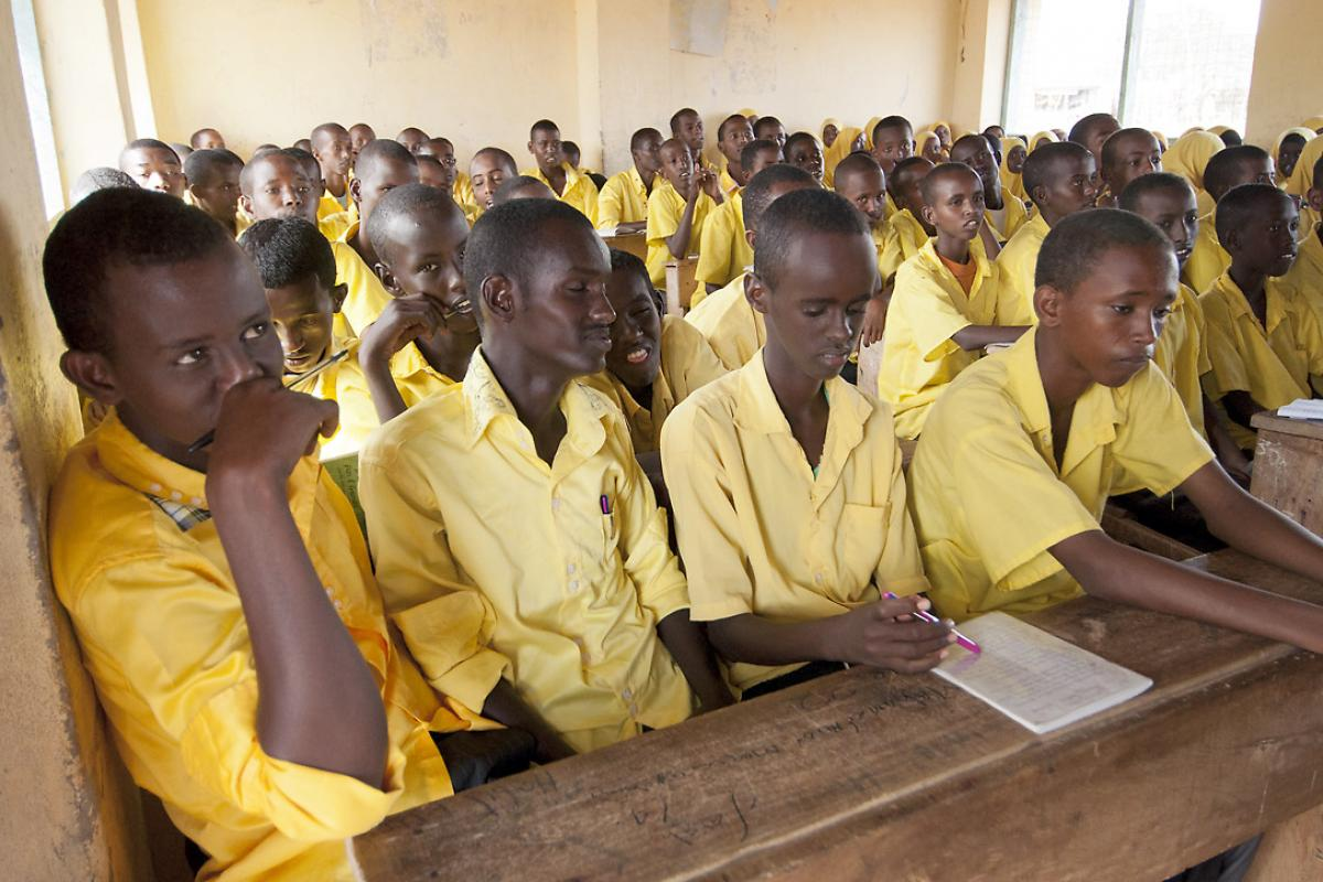 Students in a Dadaab schoolroom. Photo: LWF/DWS Kenya-Djibouti