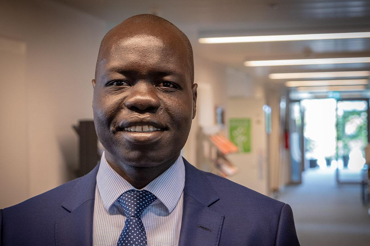 Dr Ojot Miru Ojulu has been appointed new Assistant General Secretary for International Affairs and Human Rights