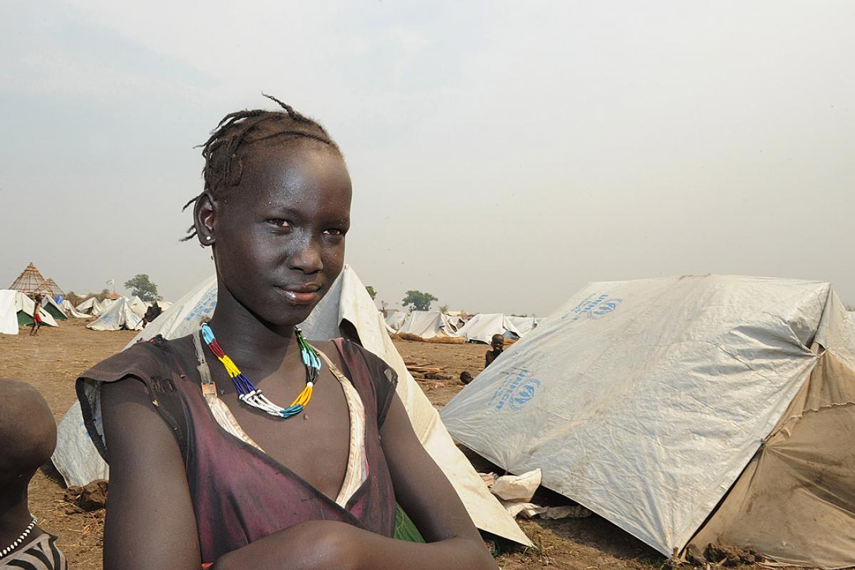 A South Sudanese girl at the Lietchor refugee camp in Gambella, western Ethiopia. Photo: Christof Krackhardt/ACT/Diakonie Katastrophenhilfe