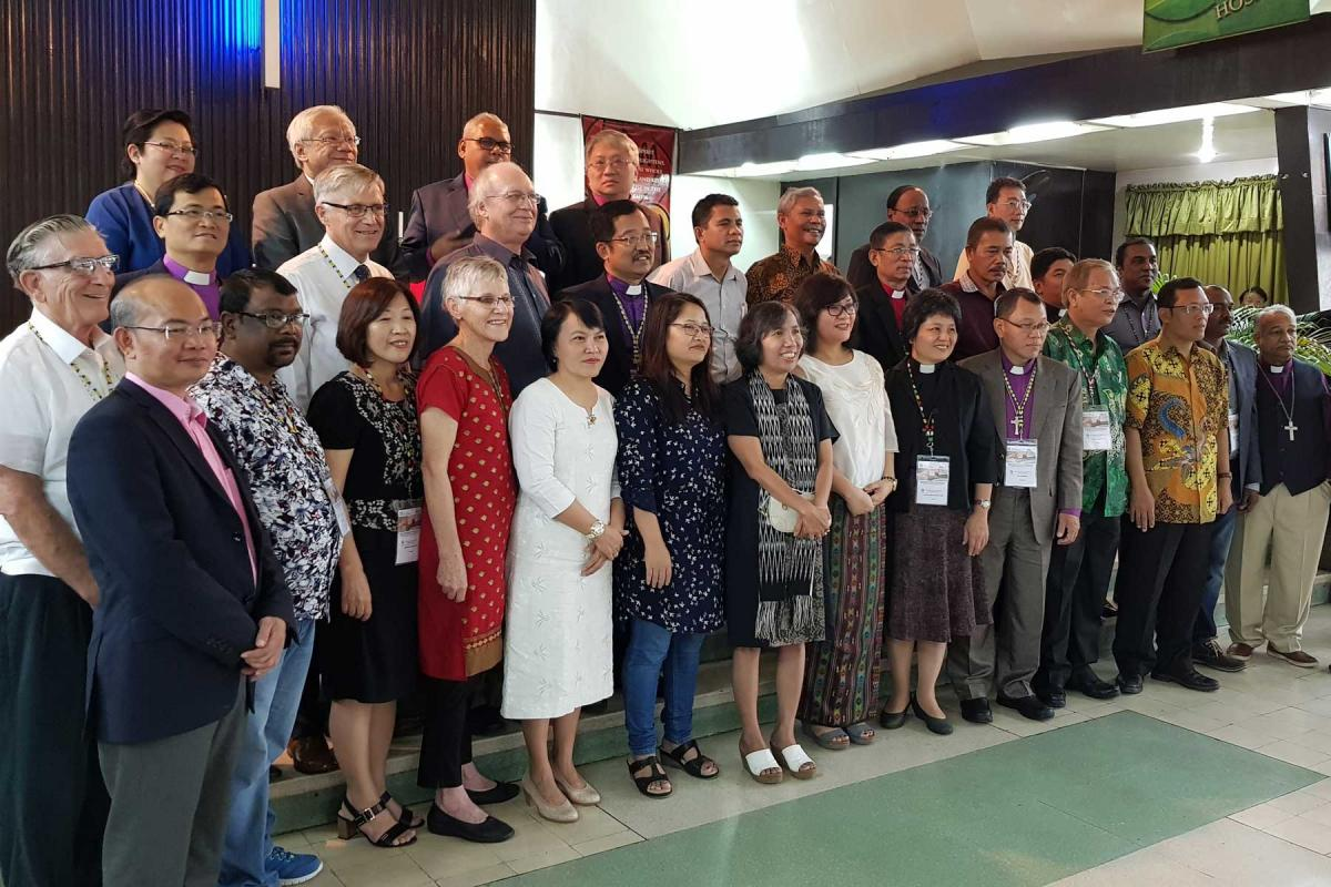 Participants of the ACLC 2017 in Manila, Philippines. Photo: LWF/P. Lok