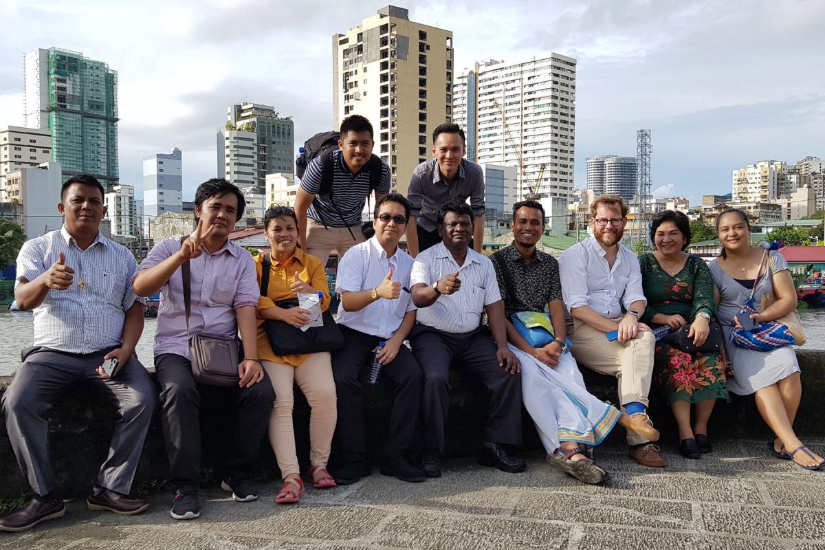 Asia Communicators in Manila for the 4th Network workshop. Photo: Philip Lok/LWI