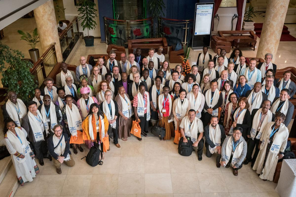 Gathered in Addis Ababa from 23-27 October 2019, Lutherans from across the globe join in consultation under the theme of 'We believe in the Holy Spirit: Global Perspectives on Lutheran Identities'. Photo: LWF/Albin Hillert