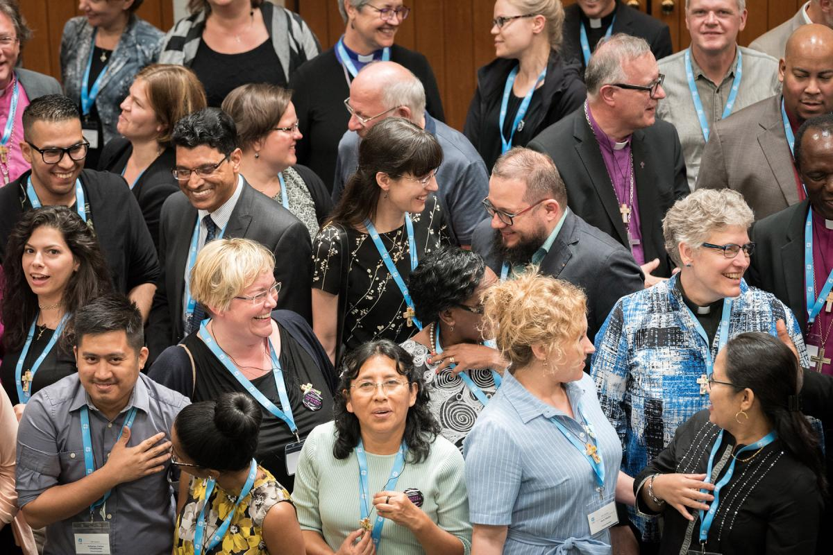 The LWF Council meets yearly and is the highest authority of the LWF between assemblies. The 2018 LWF Council met in Geneva. Photo: Albin Hillert/LWF