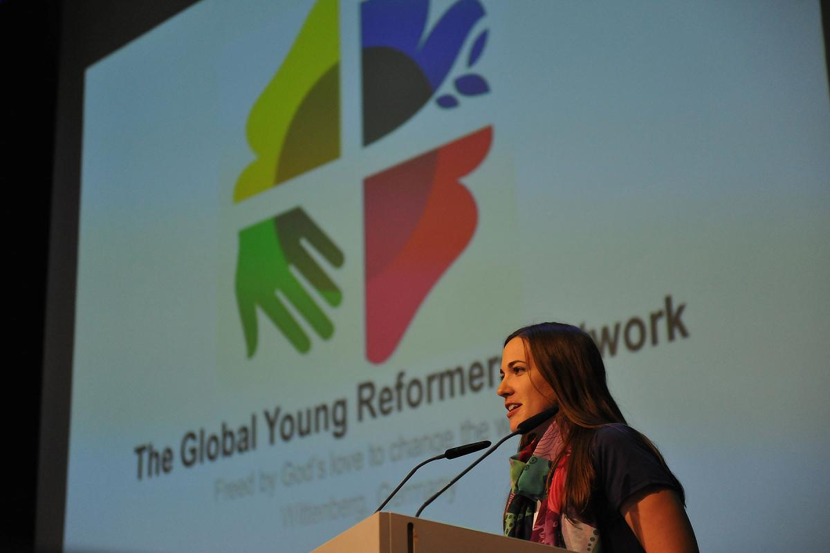 Wittenberg workshop of the Global Young Reformers Network on 26 August 2015. Photo: LWF/M. Renaux
