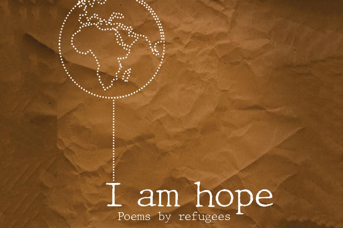 """""""I am Hope"""" Poems by refugees - LWF Book cover"""
