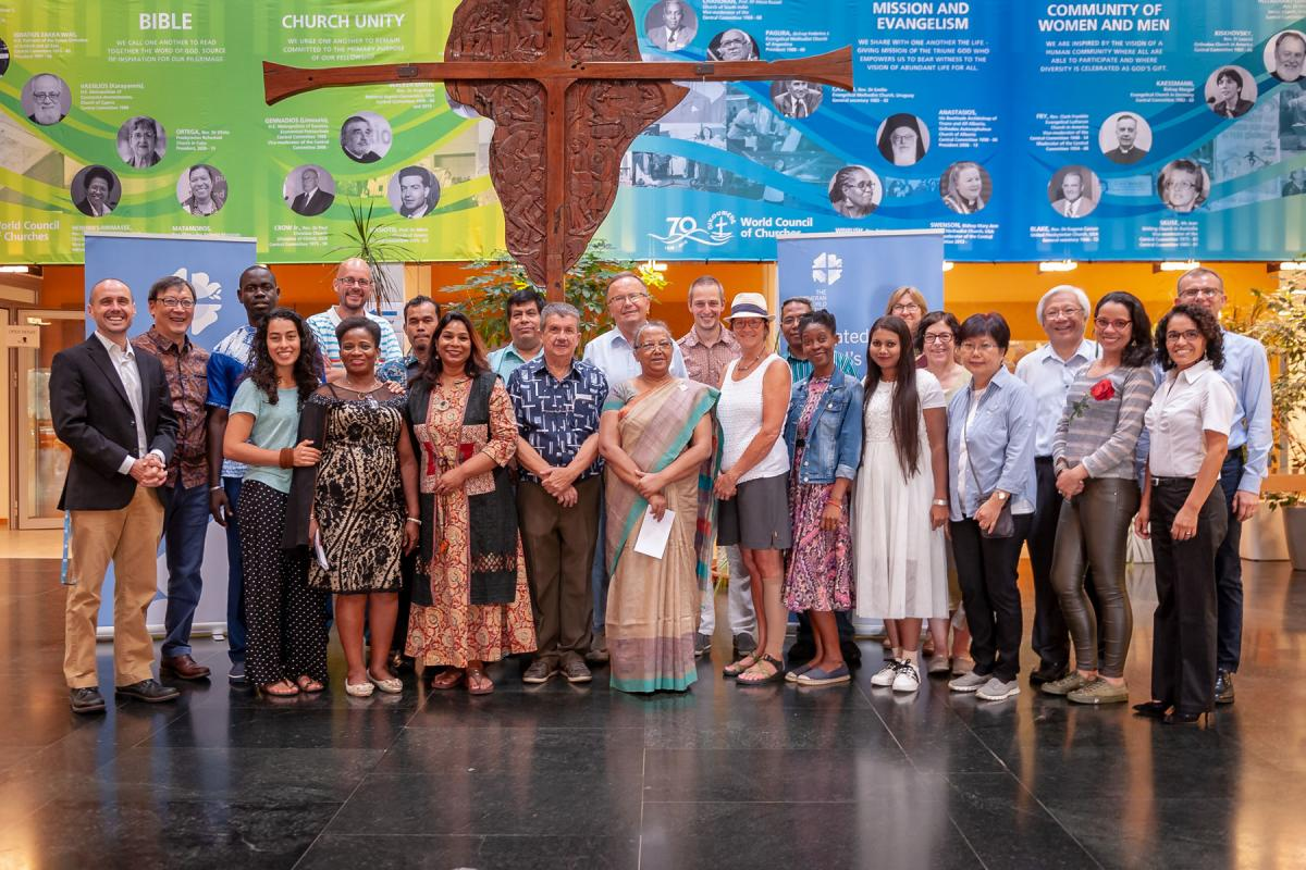 Induction of LWF lay leaders, Ecumenical Center, Geneva, 16-17 August 2018. Photo: LWF/S. Gallay