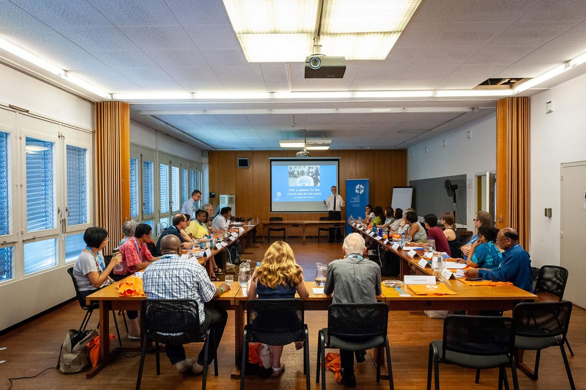 Participants in the 2019 LWF Third International Lay Leaders' Seminar, held in Geneva and Wittenberg. Photo: LWF/S. Gallay