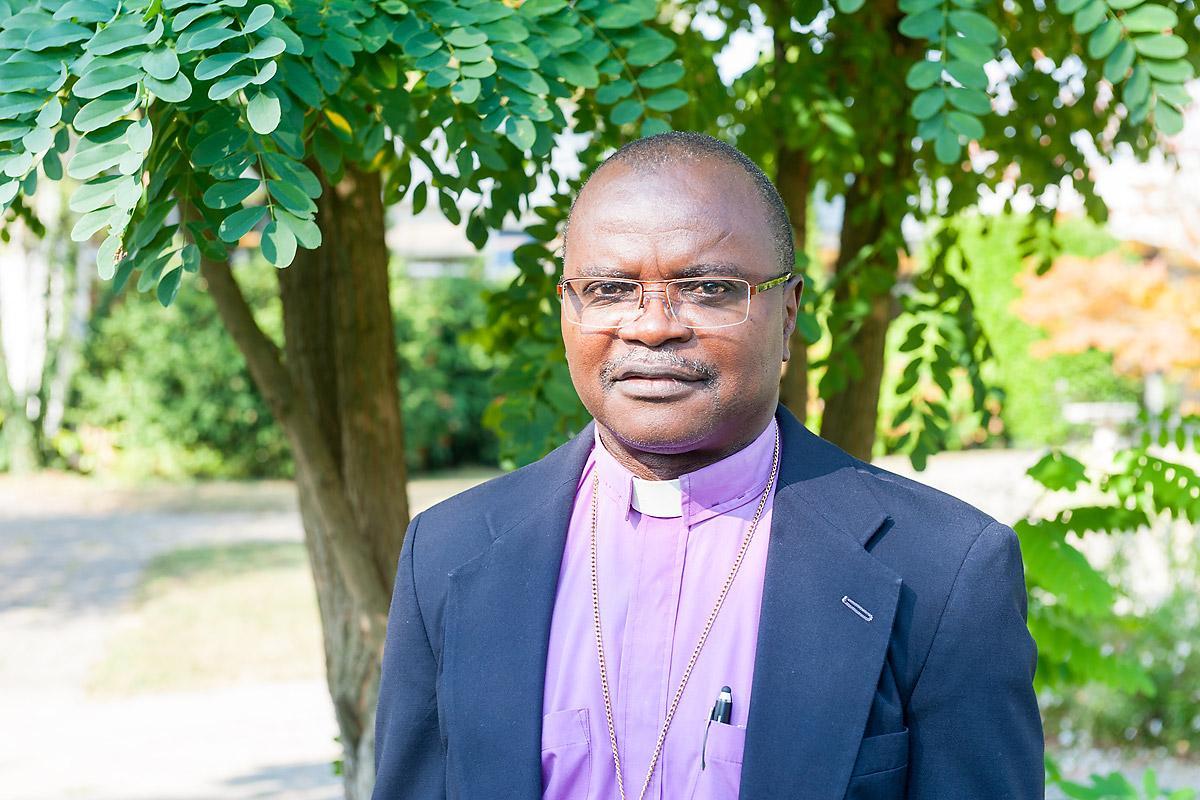 Bishop Dr Jensen Seyenkulo, Lutheran Church in Liberia. Photo: S. Gallay