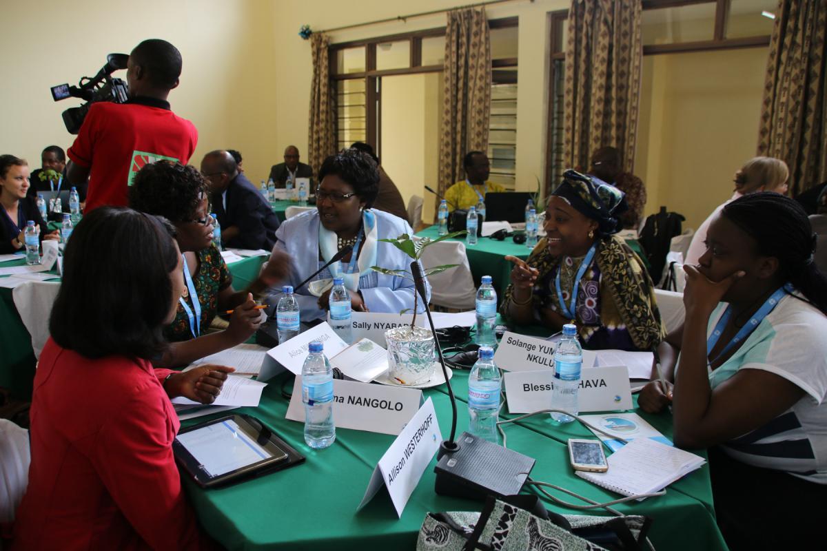 LWF member church representatives, during a past regional meeting in Moshi, Tanzania. Photo:LWF