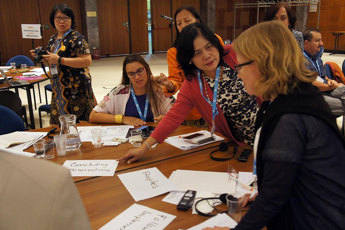 Women Human Rights Advocacy Training, July 2017. Photo: LWF/C. Rendon