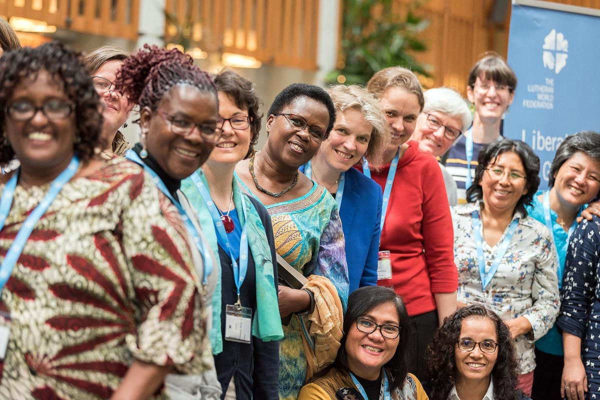 Women's pre-council meeting, in anticipation of the Lutheran World Federation council meeting 2019. Photo: LWF/Albin Hillert