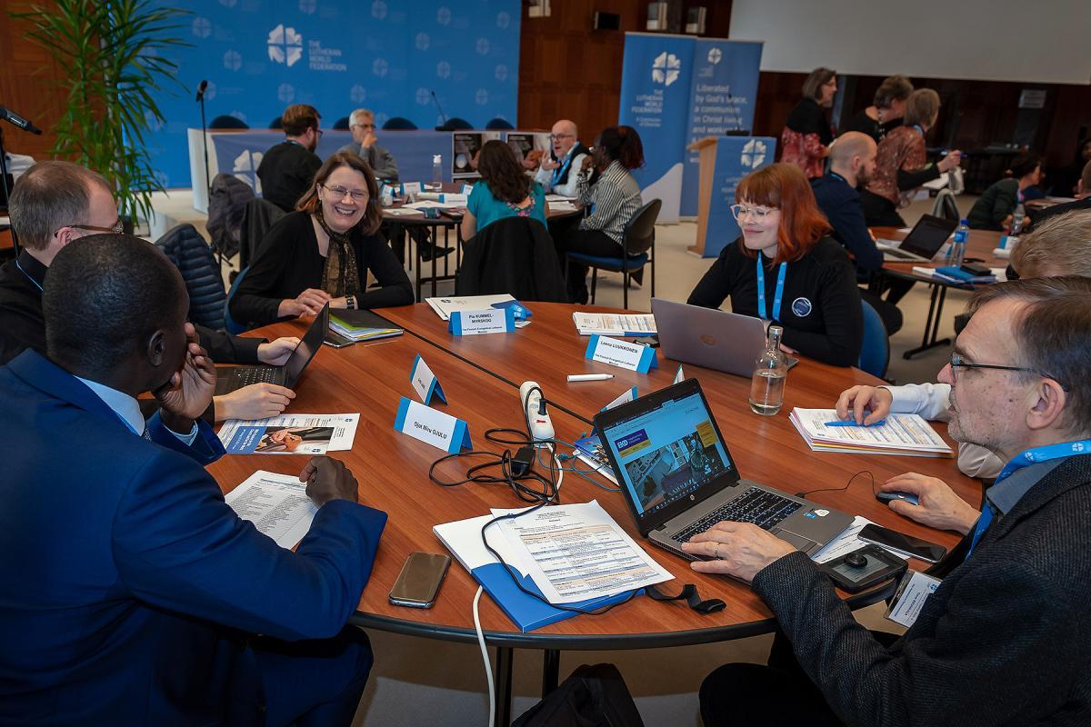 """Working Together"" meeting, 28 February – 1st March 2019, Ecumenical Center, Geneva, Switzerland. Photo: LWF/S. Gallay"