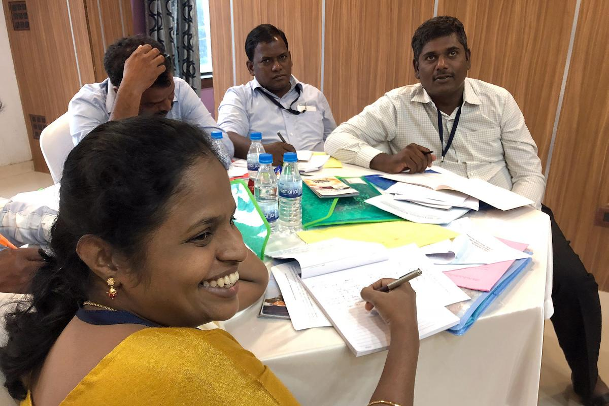 Participants in a diaconal workshop in Ranchi, India, September 2018. Photo: LWF/Marina Dölker