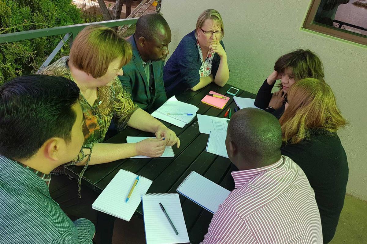 Global Leadership Team Meeting 2017, Windhoek, Namibia. Photo:LWF/C. Kästner
