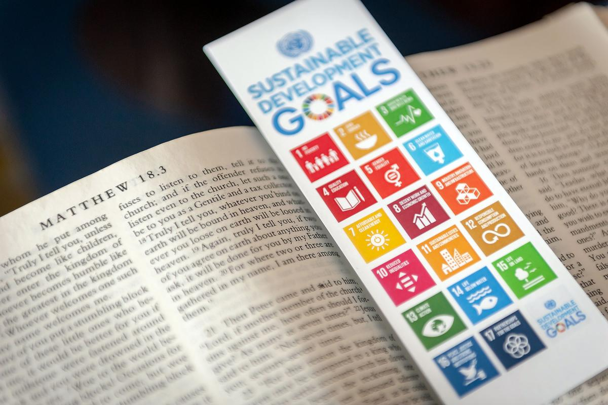 The LWF 'Waking the Giant' initiative anchors its work on the SDGs in the bible. Photo: LWF/S.Gallay