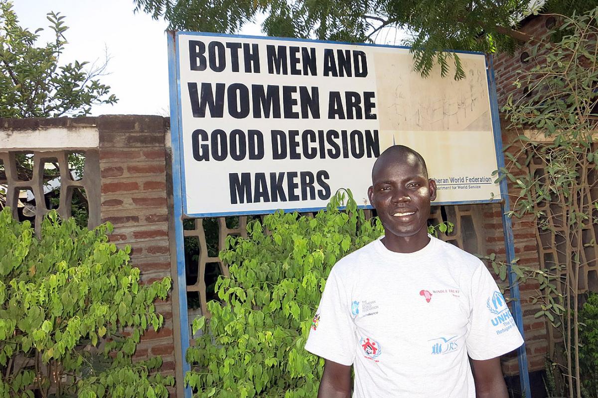 Makuach Abraham Kuf. Photo: LWF/DWS Kenya-Djibouti