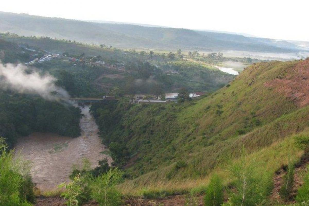 Rusumo falls, Rwanda, Tanzania border. Photo: Rev. John Rutsindintwarane