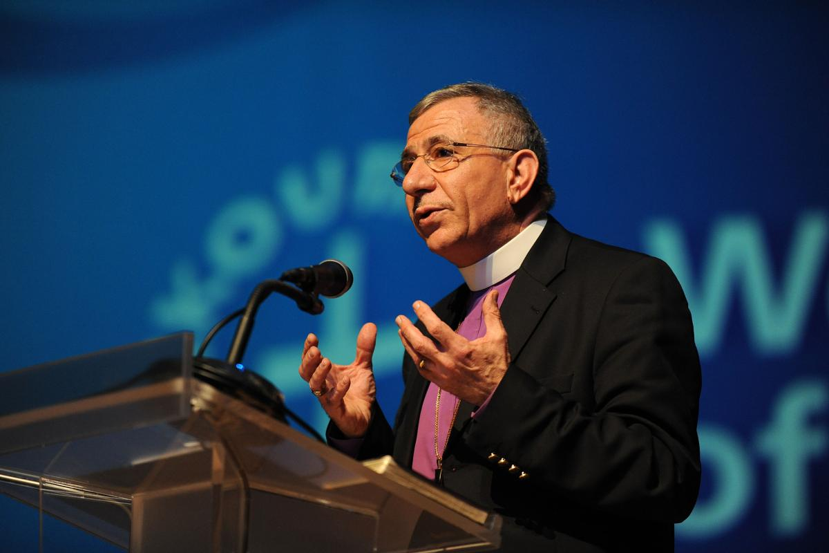 Bishop Dr Munib A. Younan