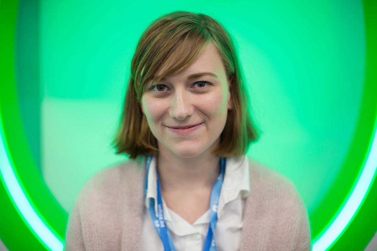Beata Anna Kolarczyk, Polish Lutheran delegate to the COP 24 UN climate conference in Katowice, Poland. Photo: LWF/Sean Hawkey