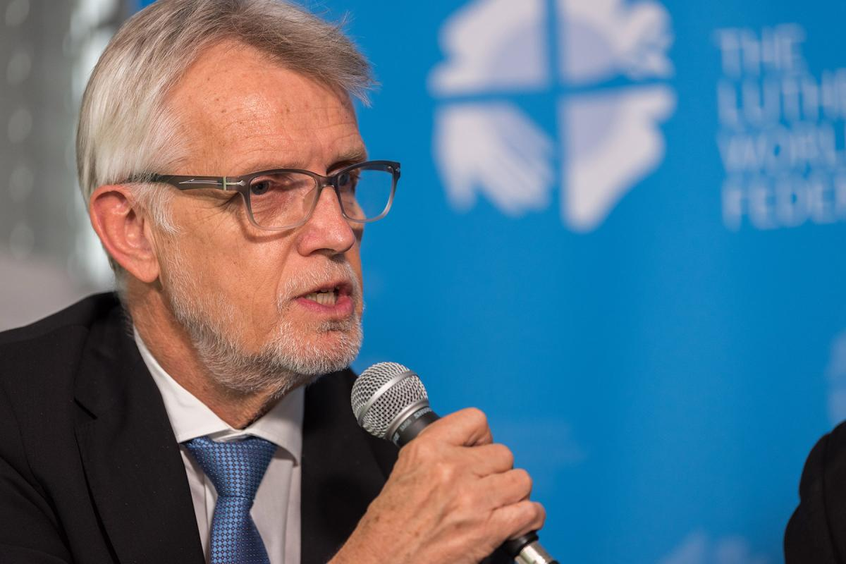 LWF General Secretary, Rev. Dr Martin Junge. Photo: LWF/Albin Hillert