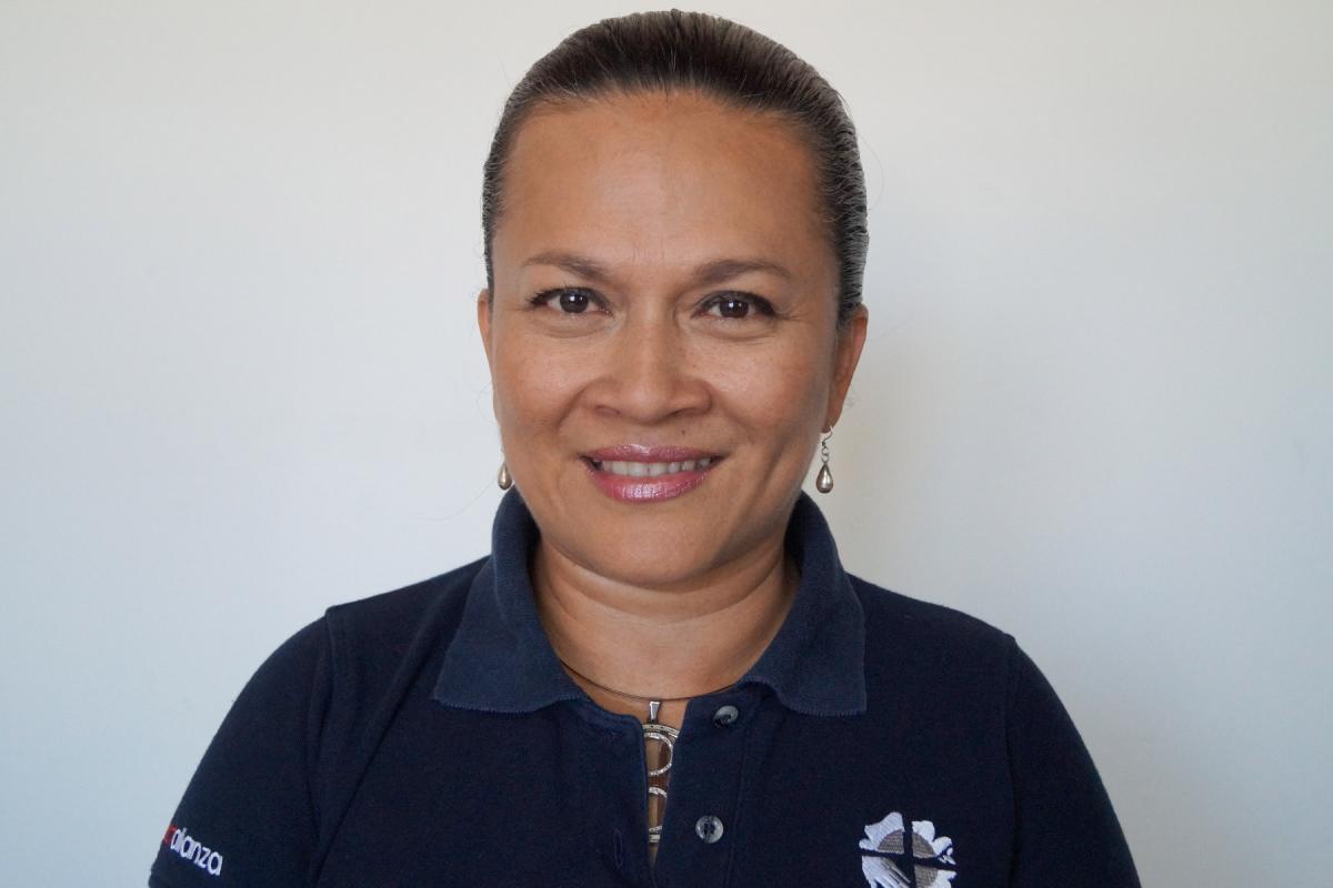 Zoraya Urbina, LWF Central America advocacy officer . Photo: LWF