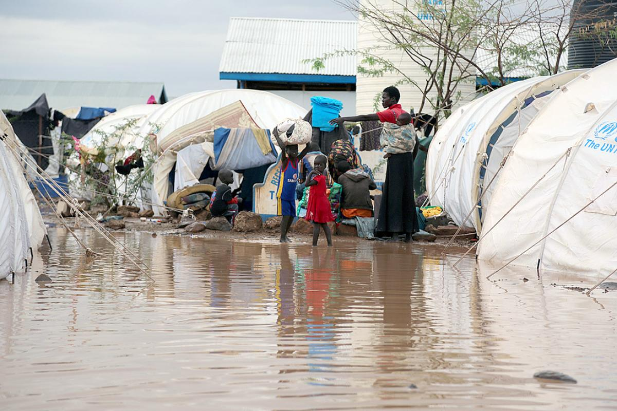 South Sudanese refugees arrive Kakuma
