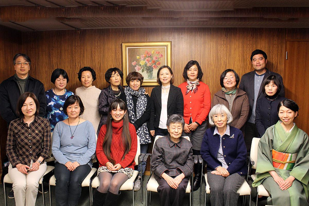 Discussions at the April 2015 LWF WICAS regional meeting in Tokyo, Japan, included feedback on local translations of the LWF Gender Justice Policy. Photo: LWF/WICAS