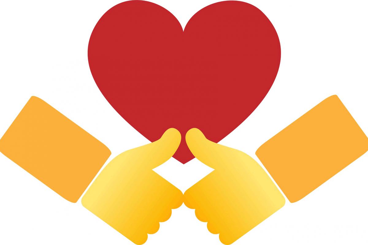 An emoji for forgiveness, selected from the proposals submitted in a campaign by the Evangelical Lutheran Church of Finland. Photo: ELCF