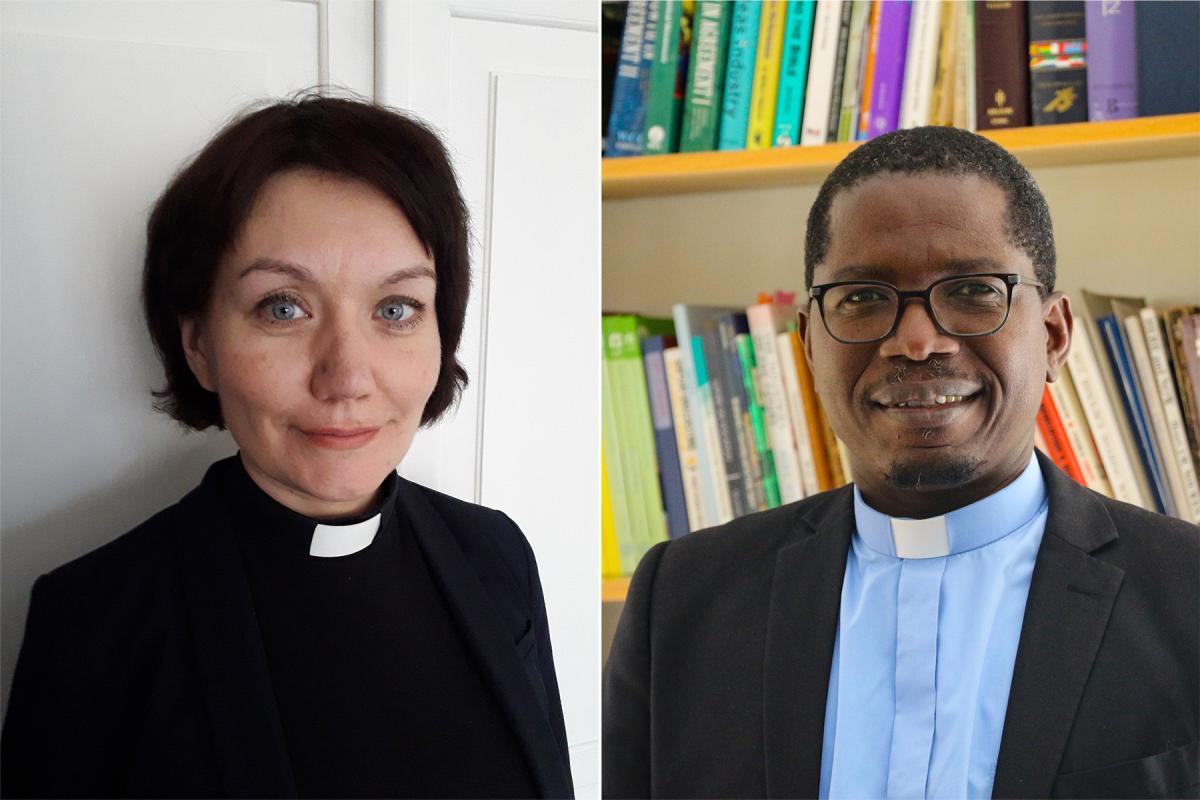 Rev. Anne Burghardt and Rev. Dr Kenneth Mtata. Photo: Composite