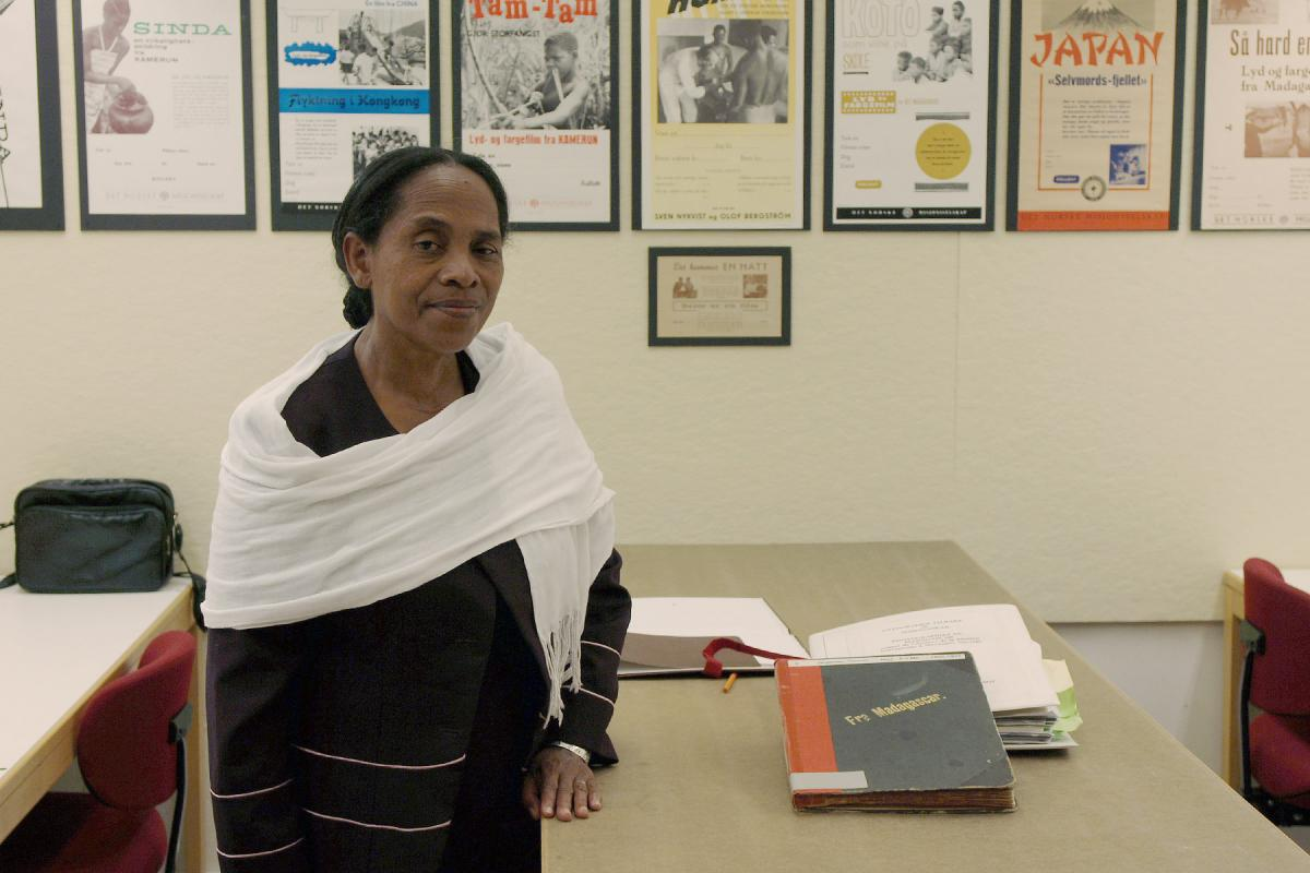 Malagasy Lutheran Church pioneer woman theologian Hélène Ralivao. Photo: Gustav Steensland/VID