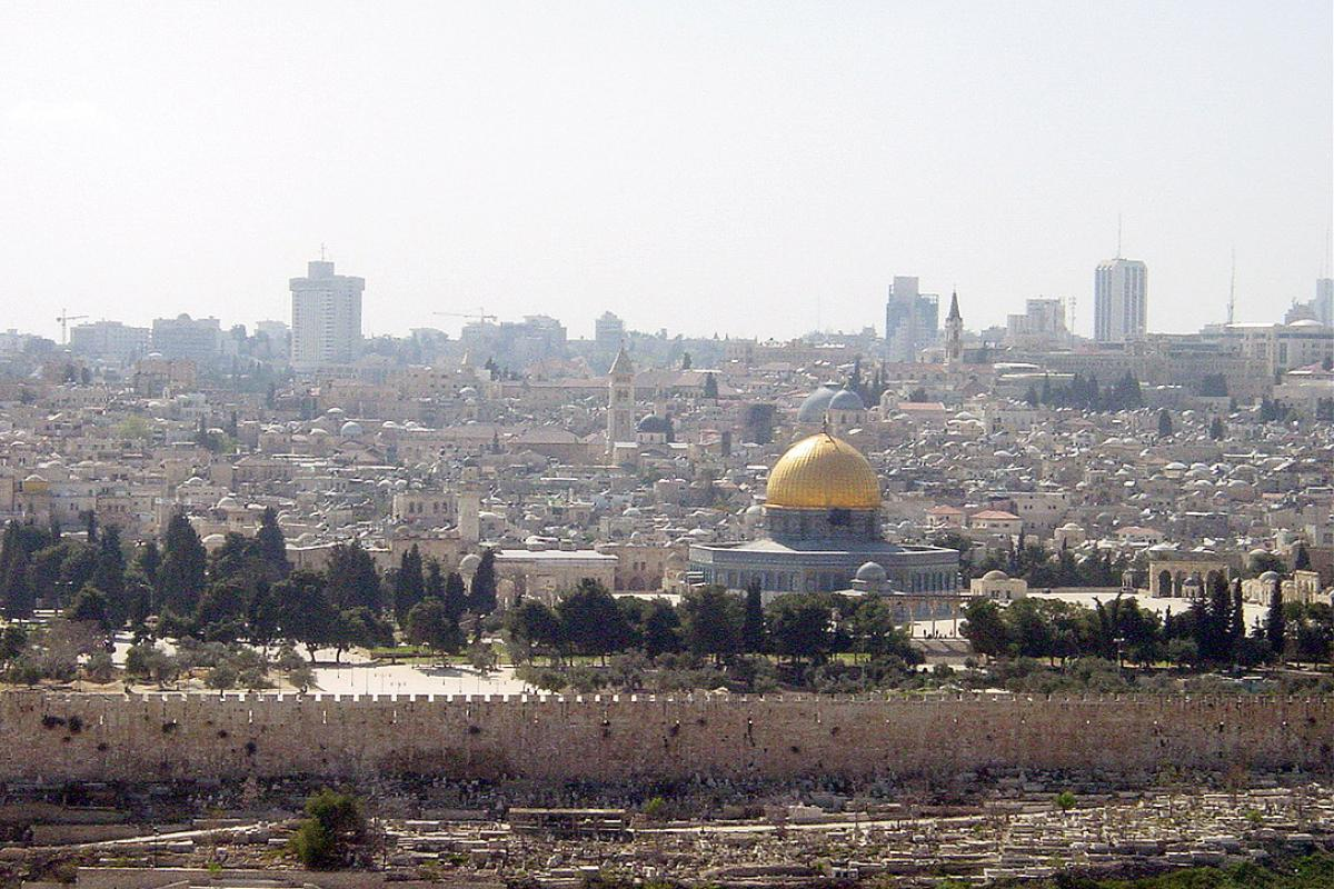 Jerusalem. Photo: LWF/D. Harris