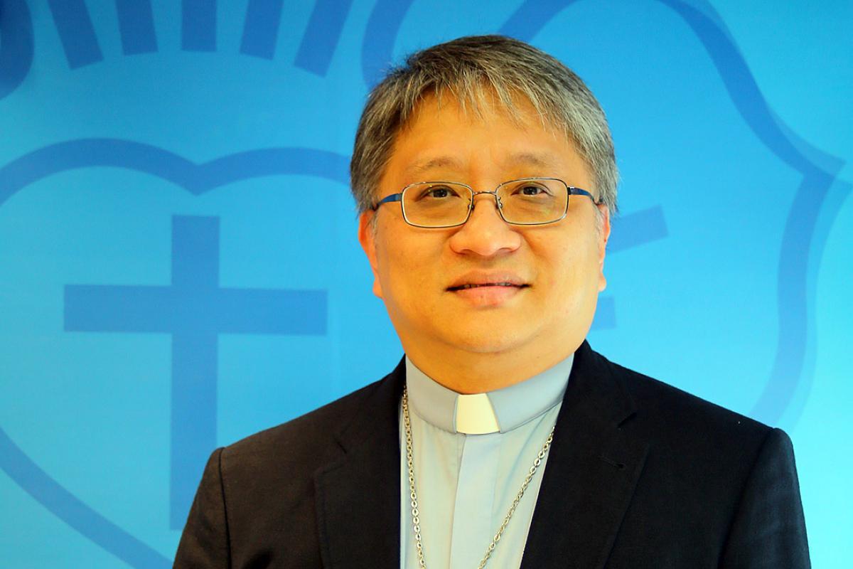 ELCHK Bishop Ben Chun-wa Chang. Photo: LWF/W. Chang