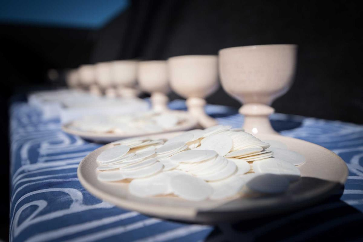 """For us Lutherans this is a hopeful step on the journey towards the shared Eucharistic table,"" said LWF General Secretary Martin Junge. Photo: LWF/Albin Hillert"