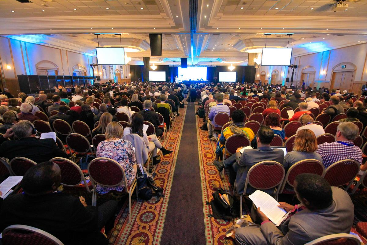 Plenary session at the Twelfth Assembly. Photo: LWF/Johanan Celine Velariano.