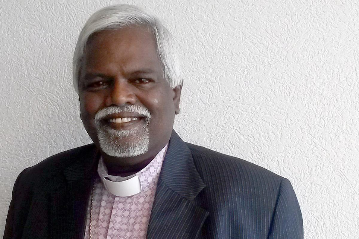 Bishop Bhanu. Photo: LWF/C. Kästner