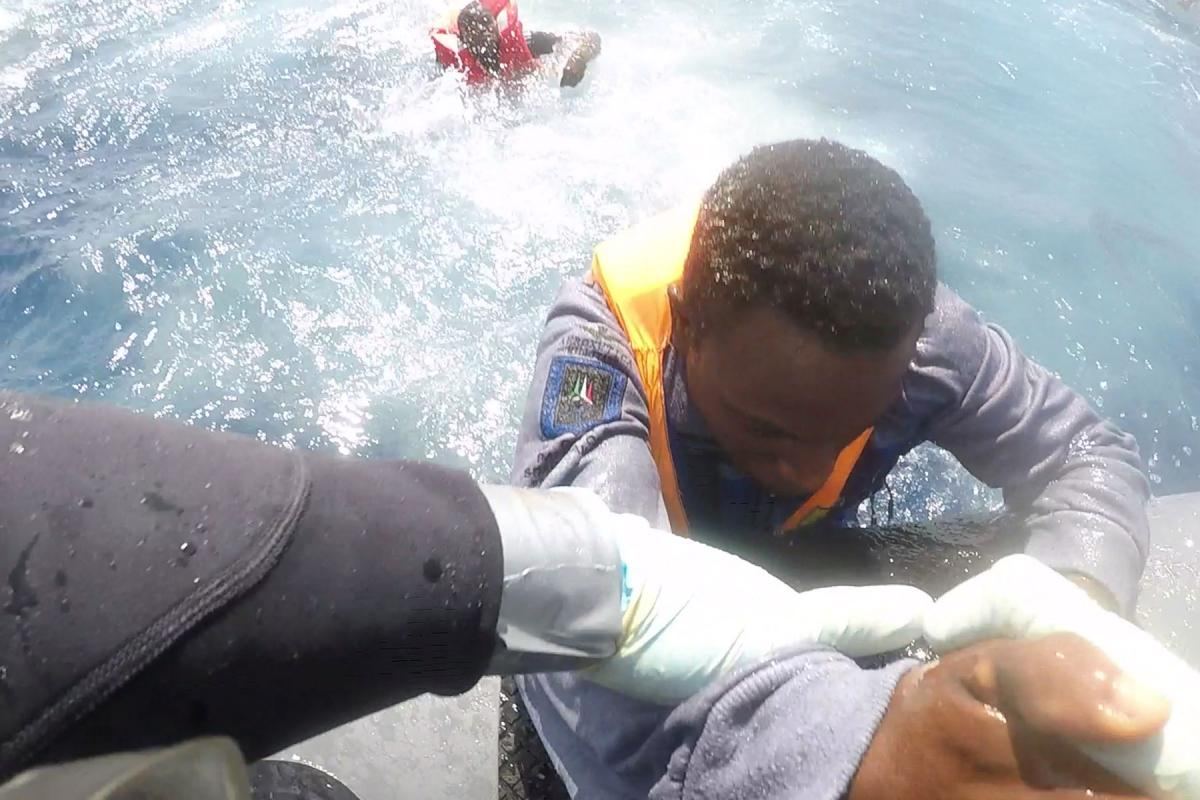 More than 250 migrants have drowned since the beginning of 2019 as they attempted to cross the Mediterranean Sea to escape poverty and violence. Photo: Óglaigh na hÉireann