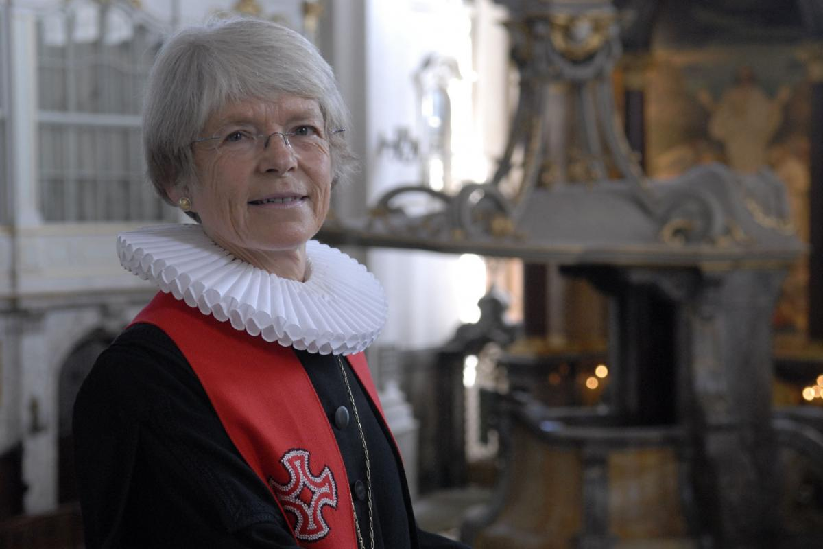 Maria Jepsen was elected the first Lutheran bishop 25 years ago.