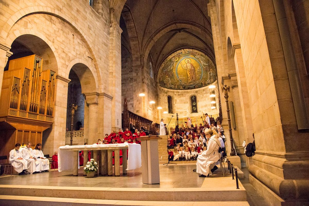 "Lund Cathedral common prayer service will be based on recently published Catholic-Lutheran ""Common Prayer"" liturgical guide. Photo: Church of Sweden"