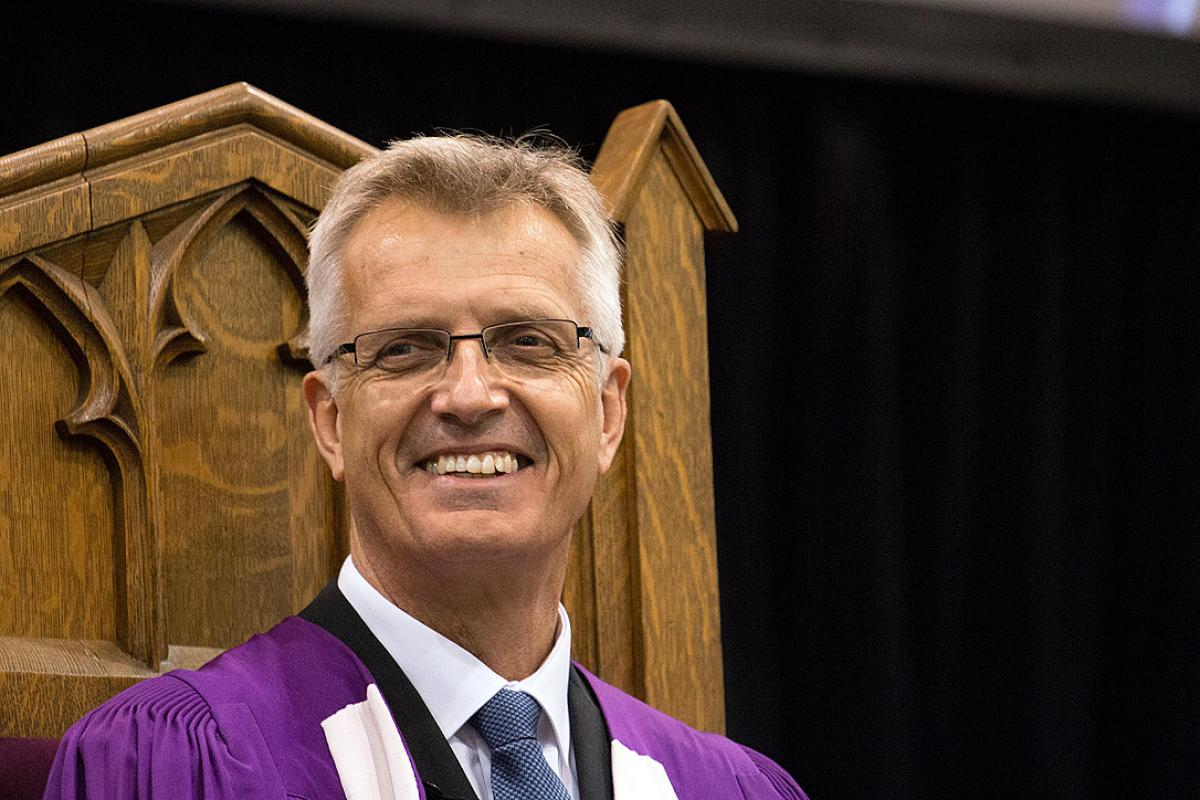 General Secretary Junge earns Honorary Doctorate for service to LWF