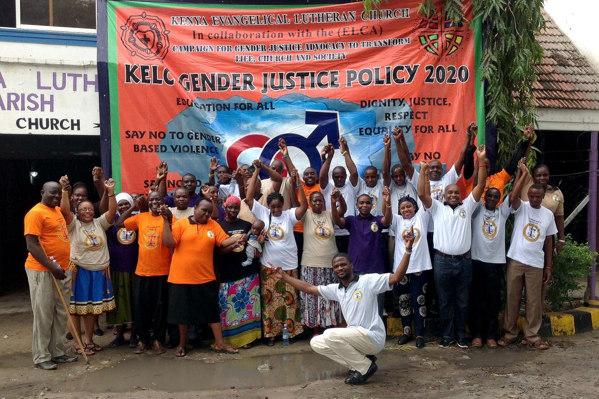 KELC South Coast Church District Gender Justice public participation forum in Mombasa, Kenya. Photo: L. Mwololo