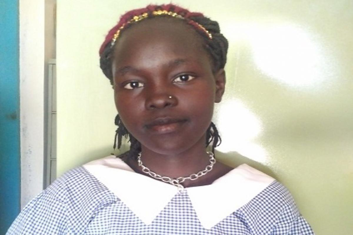 LWF helped Anek to return to school and pursue higher education while caring for her child. Photo: LWF Kenya