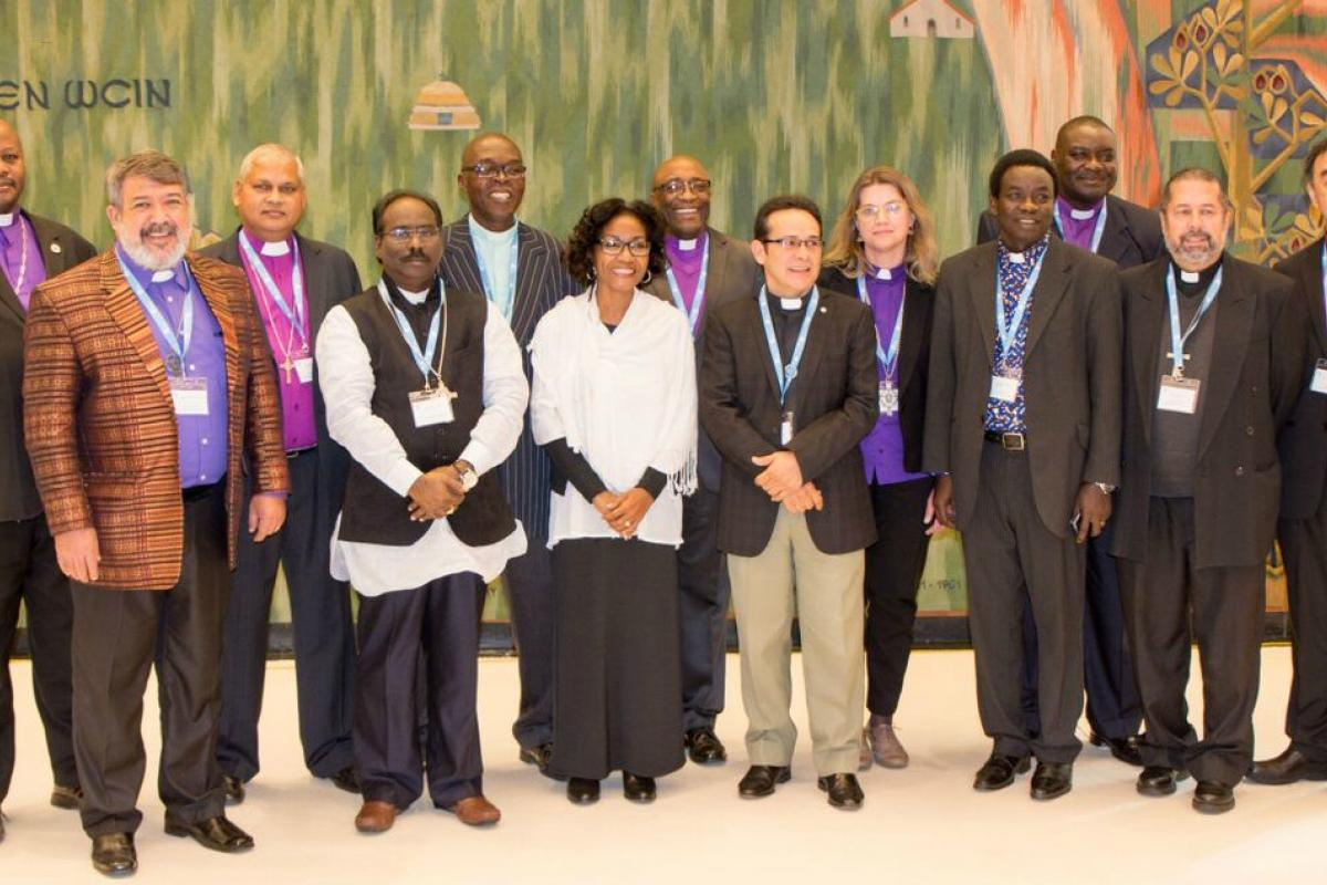 Newly-appointed leaders of LWF member churches repesenting, Africa, Asia, Latin America and the Caribbean gather for induction meetings at the #LWF Communion Office in Geneva.   Photo:  LWF