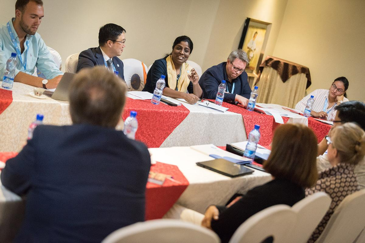 Participants at the October 2019 consultation in Addis Ababa on the theme 'We believe in the Holy Spirit: global perspectives on Lutheran identity'. Photo: LWF/A.Hillert